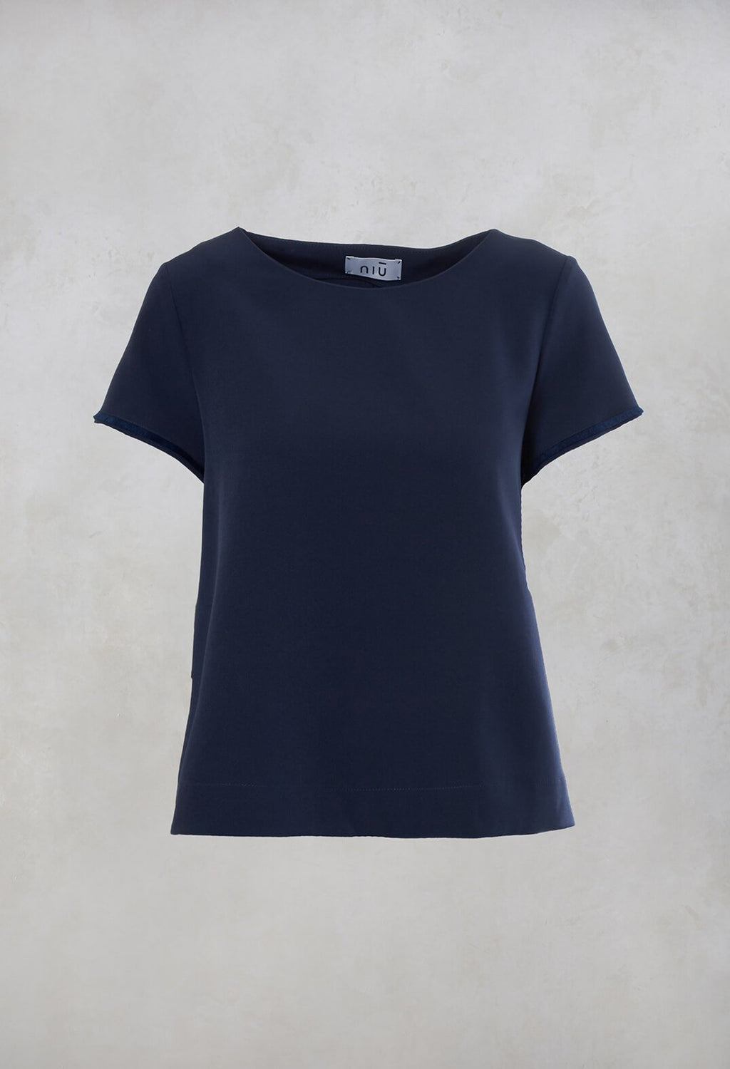 Boxy Top in Indigo