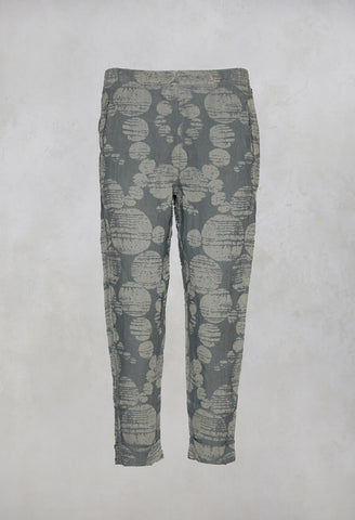 Peg Trousers Geisha in Stone