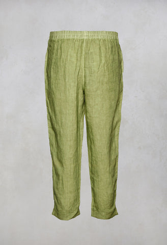 Peg Trousers Geisha in Olive