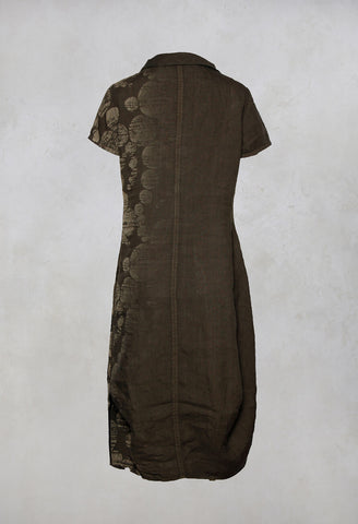 Tulip Dress Nesna in Chocolat
