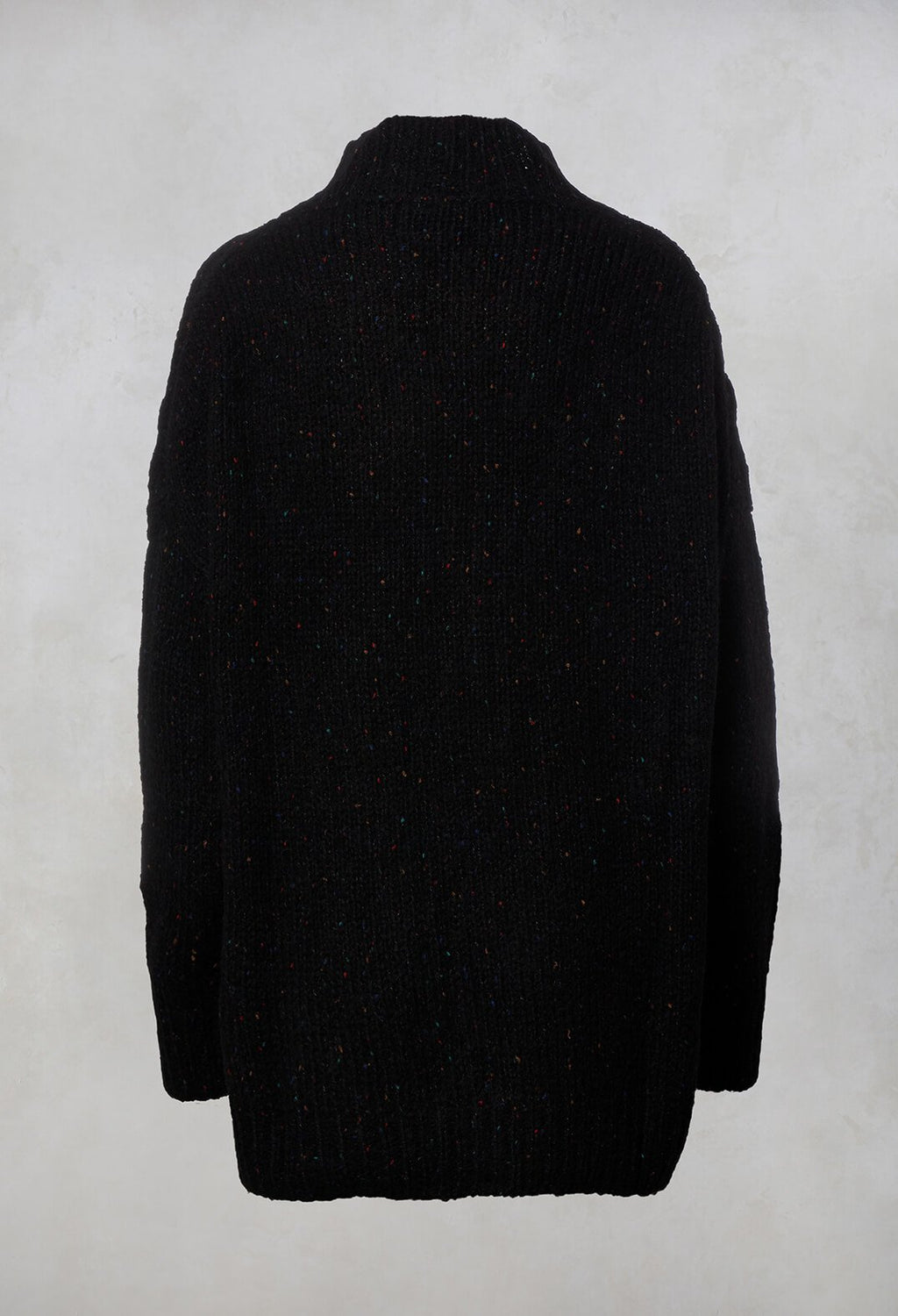 Cable Knit Jumper in Black