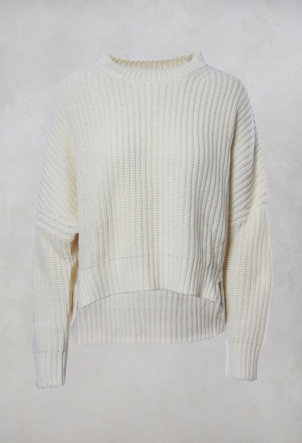 Chunky Knit Jumper in Sabbia
