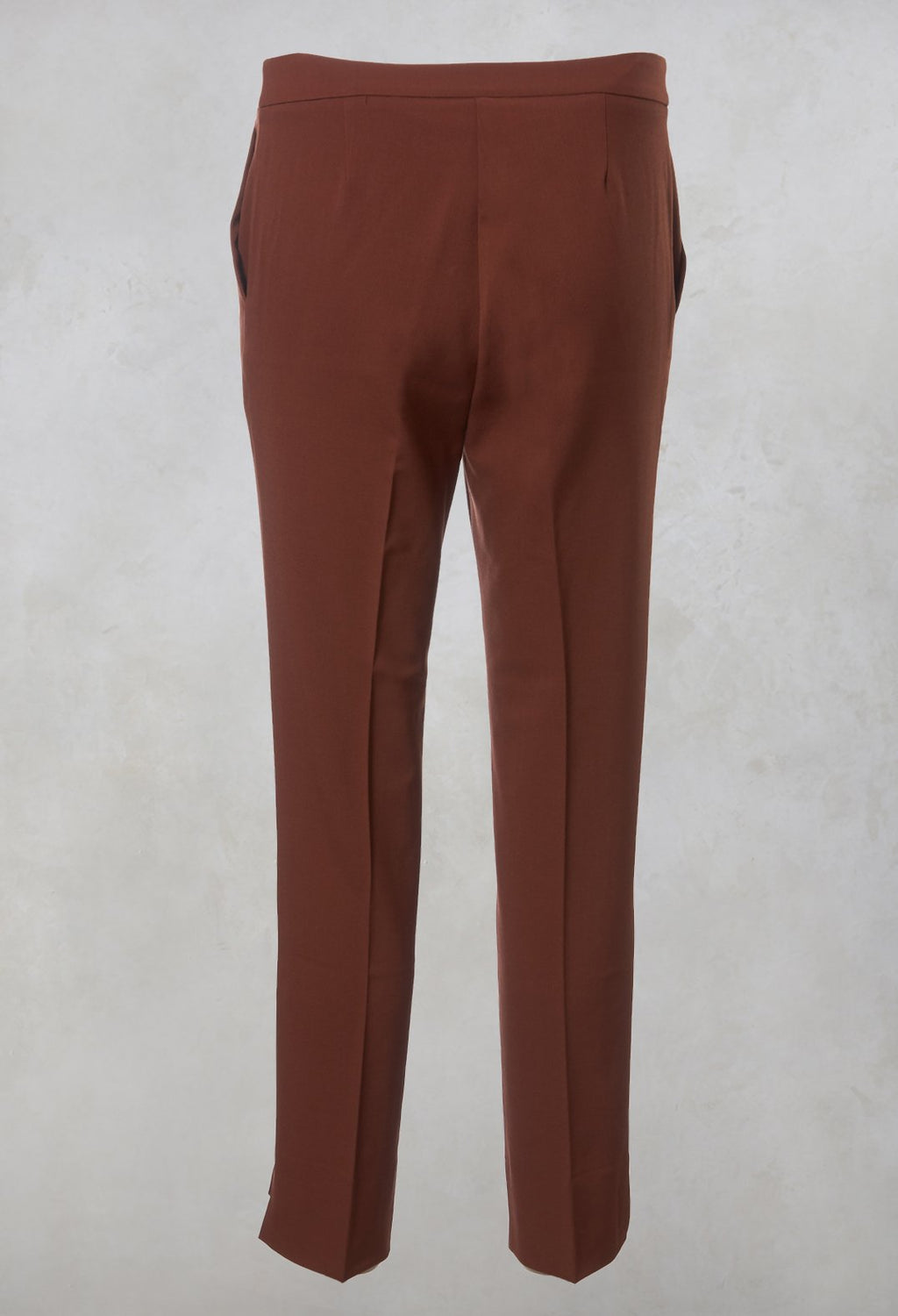 Cigarette Trousers in Rust
