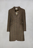 Classic Short Coat in Tweed