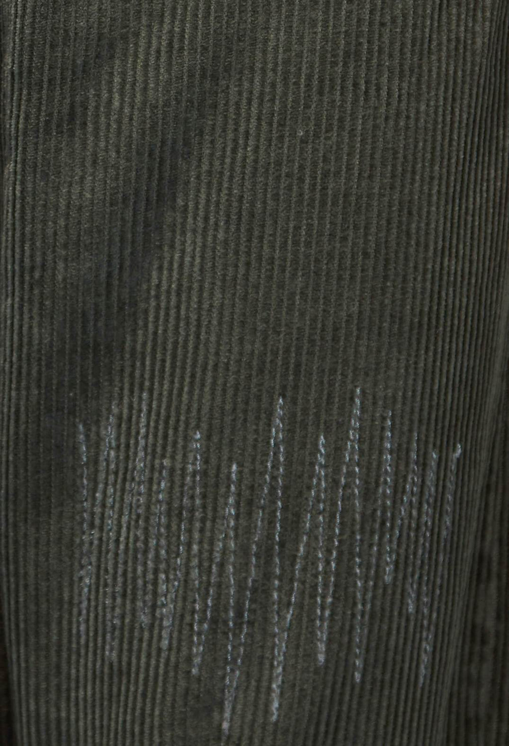 Corduroy Trousers in Dark Green