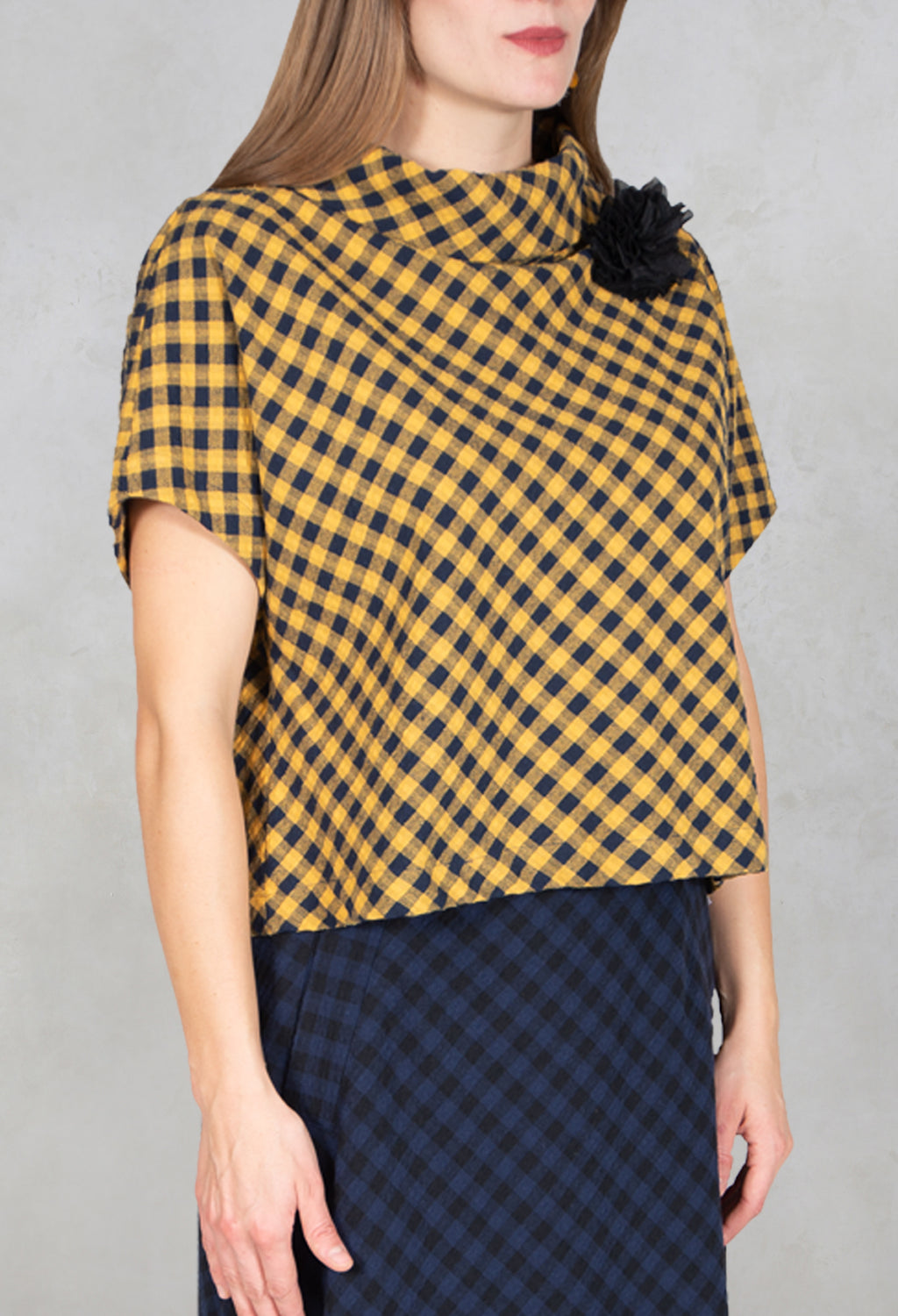 Shirt Diva in Mustard/Night