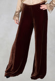 Velvet Trousers in Copper