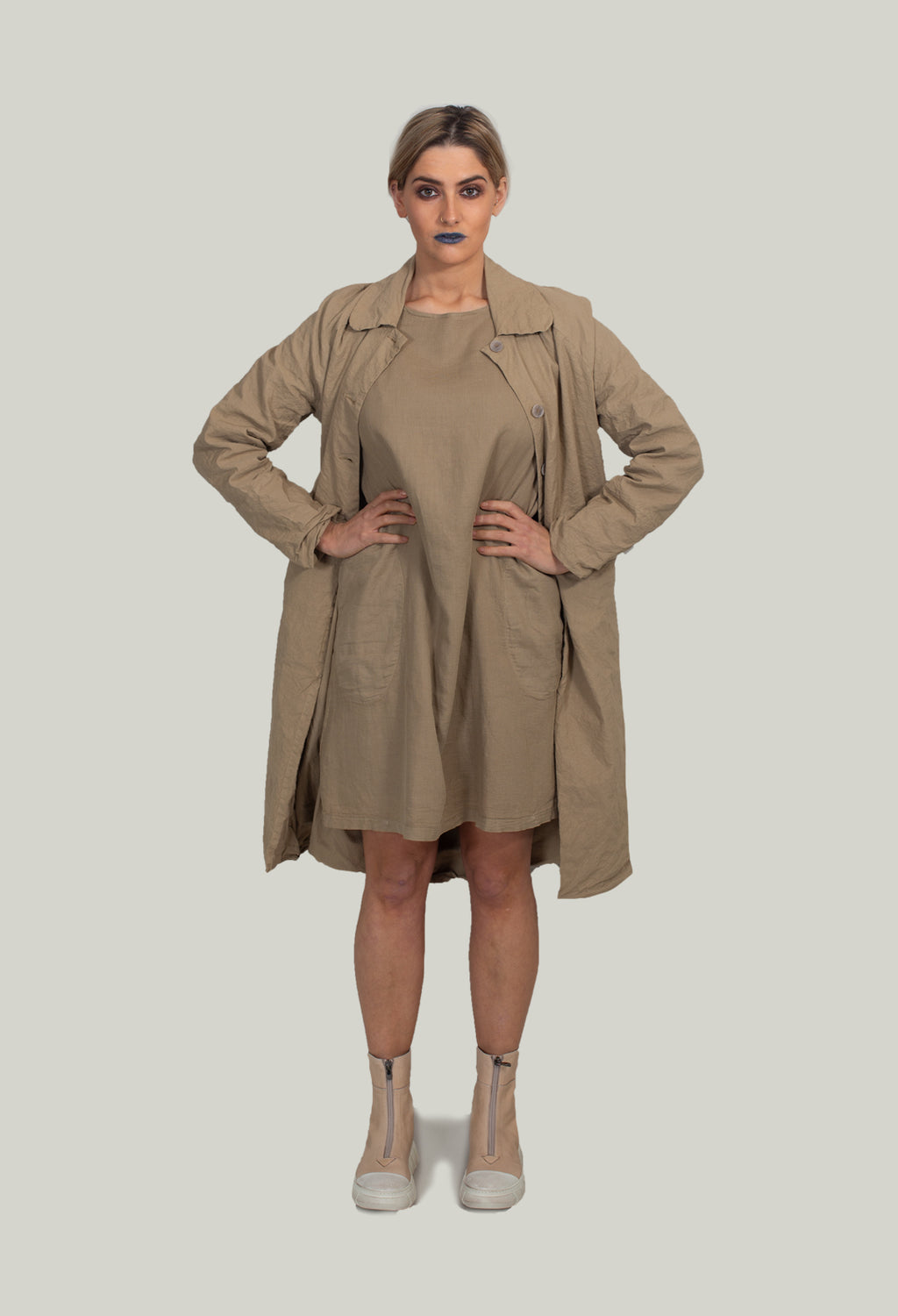 Duster Coat in Sabbi