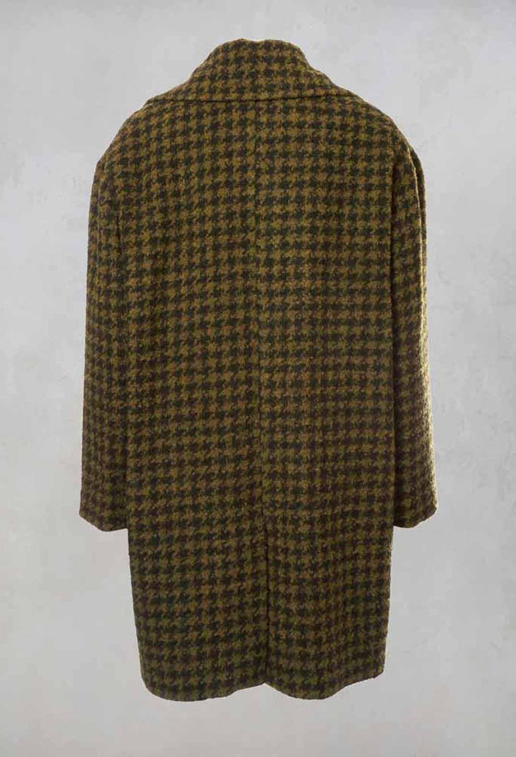 Dogtooth Coat in Stain