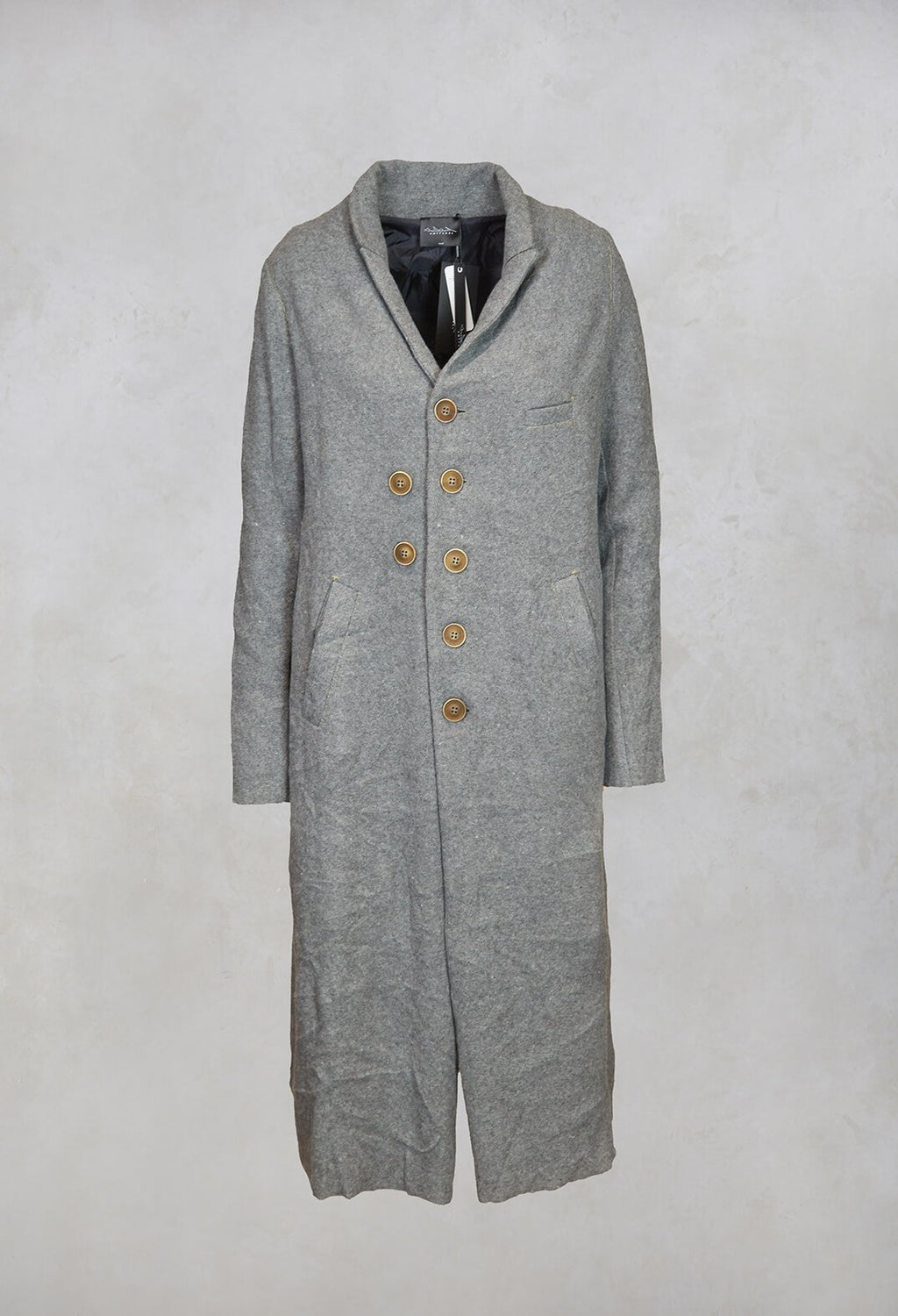 Double Breasted Duster Coat in Original
