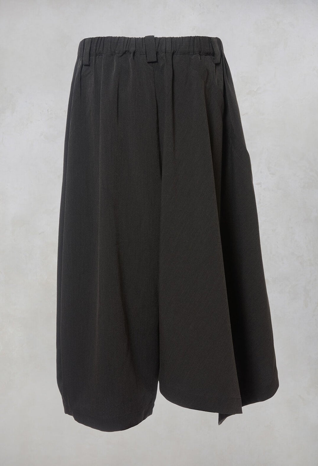 Drop Crotch Culottes in Grey