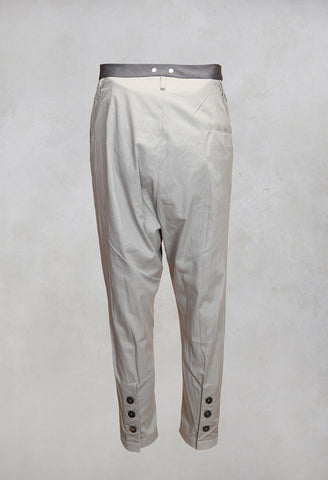 Drop Crotch Trousers in Original