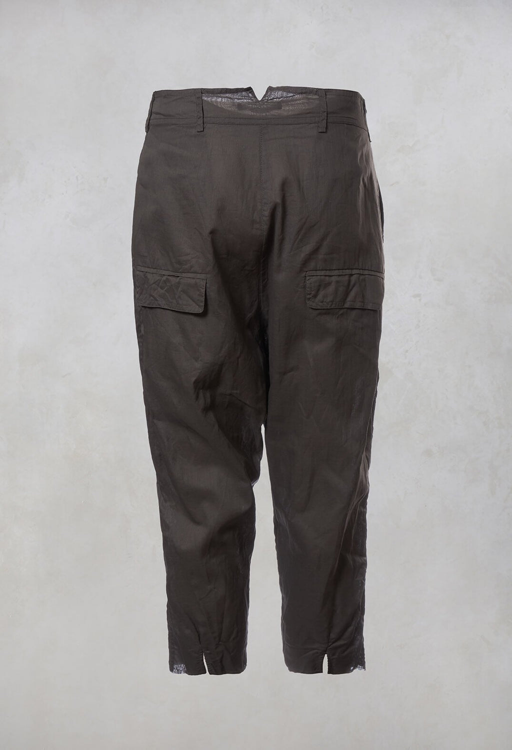 Drop Crotch Trousers in Paddy
