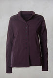 Flared Jacket in Merlot