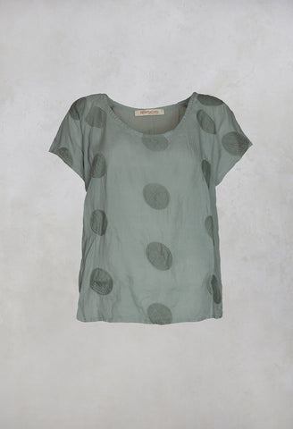 Fluxari Top in Sage