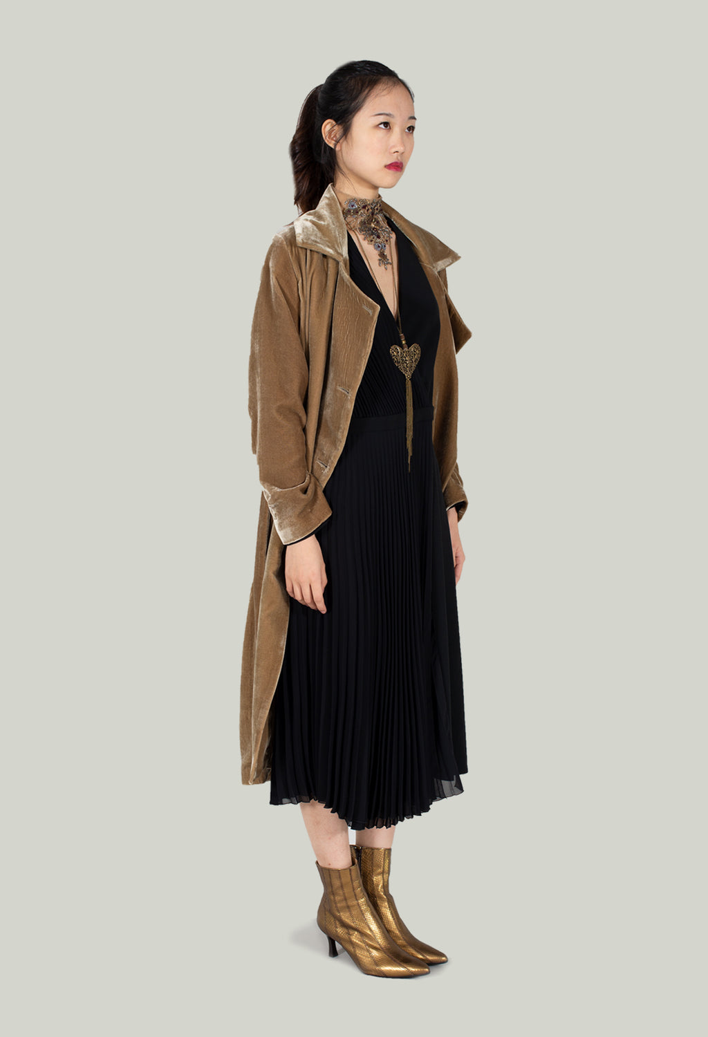 Gypsy Trench Coat in Camel