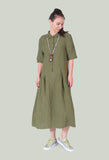Shirt Dress in Green