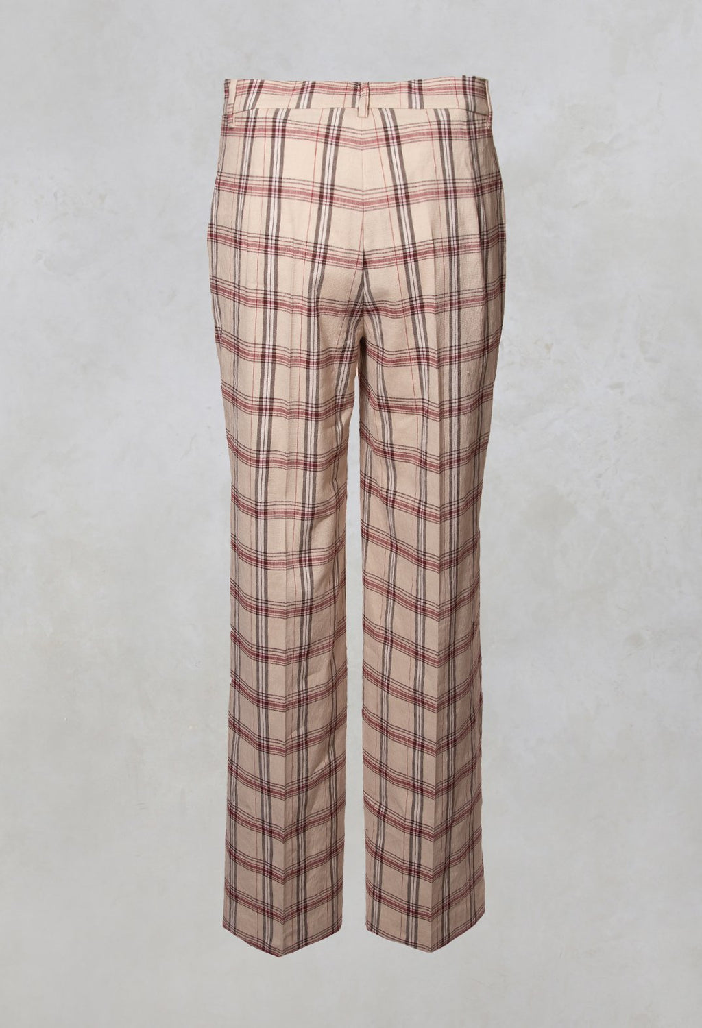 Harmony Trousers in Naturale / Brick / Marrone