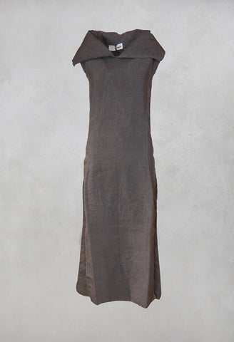 Hemp Tunic in Dark Grey