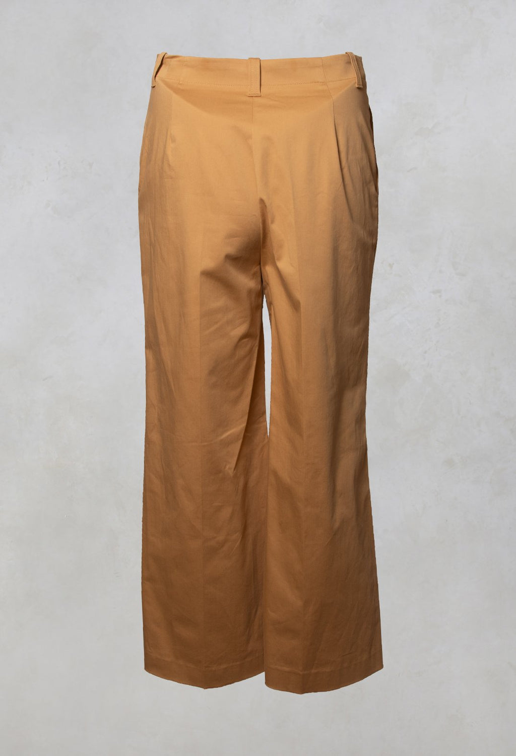 High Waisted Wide Leg Trousers in Pistilli Dizafferano