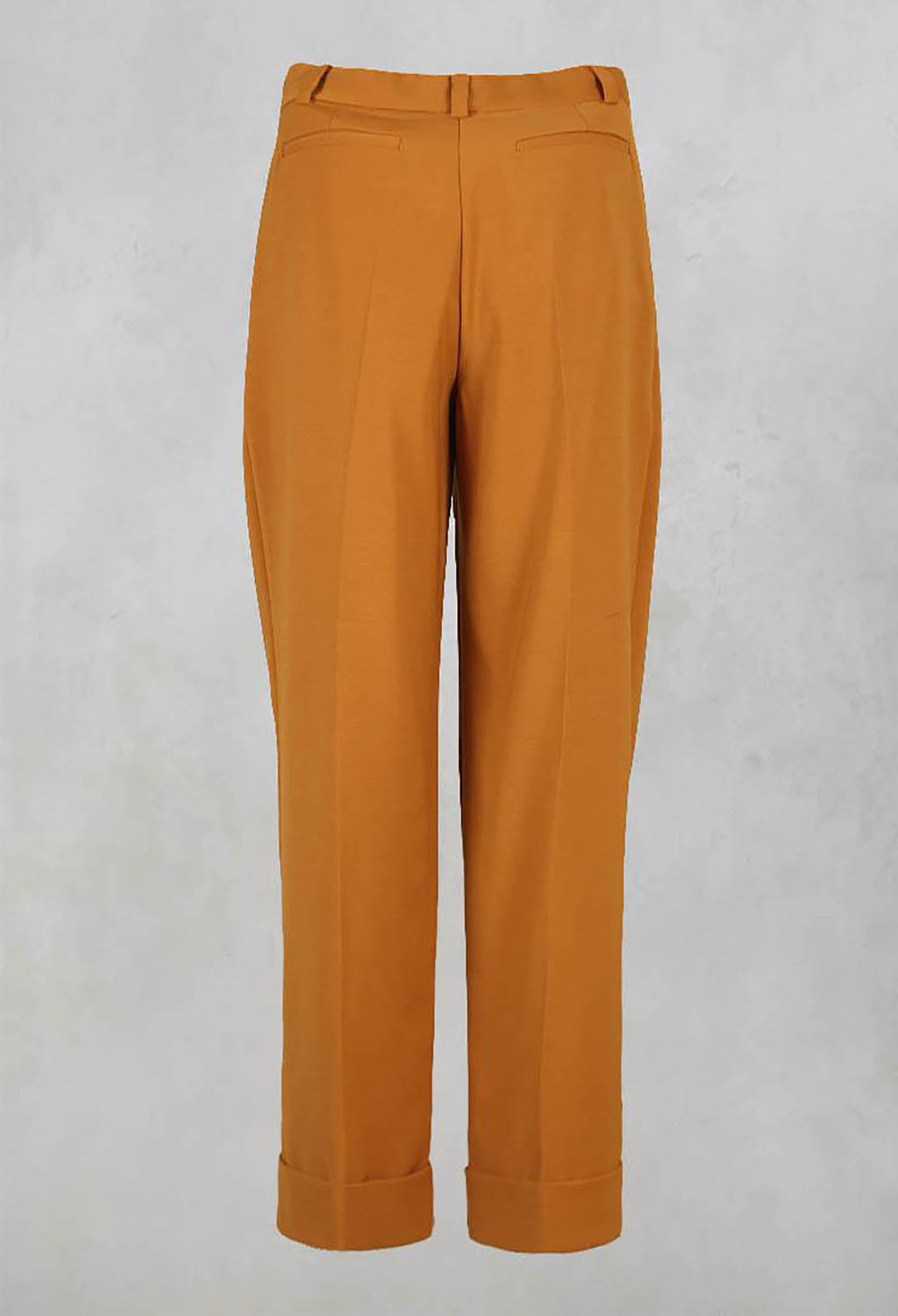 Pegged Trousers in Amber