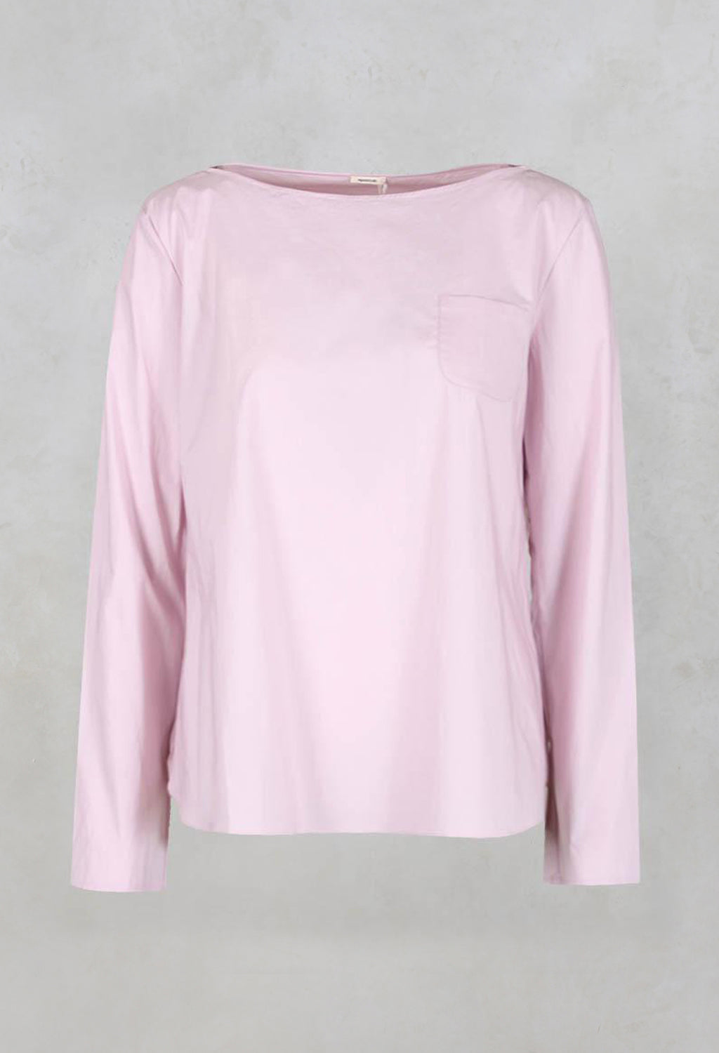 Long Sleeved T-Shirt in Rosa