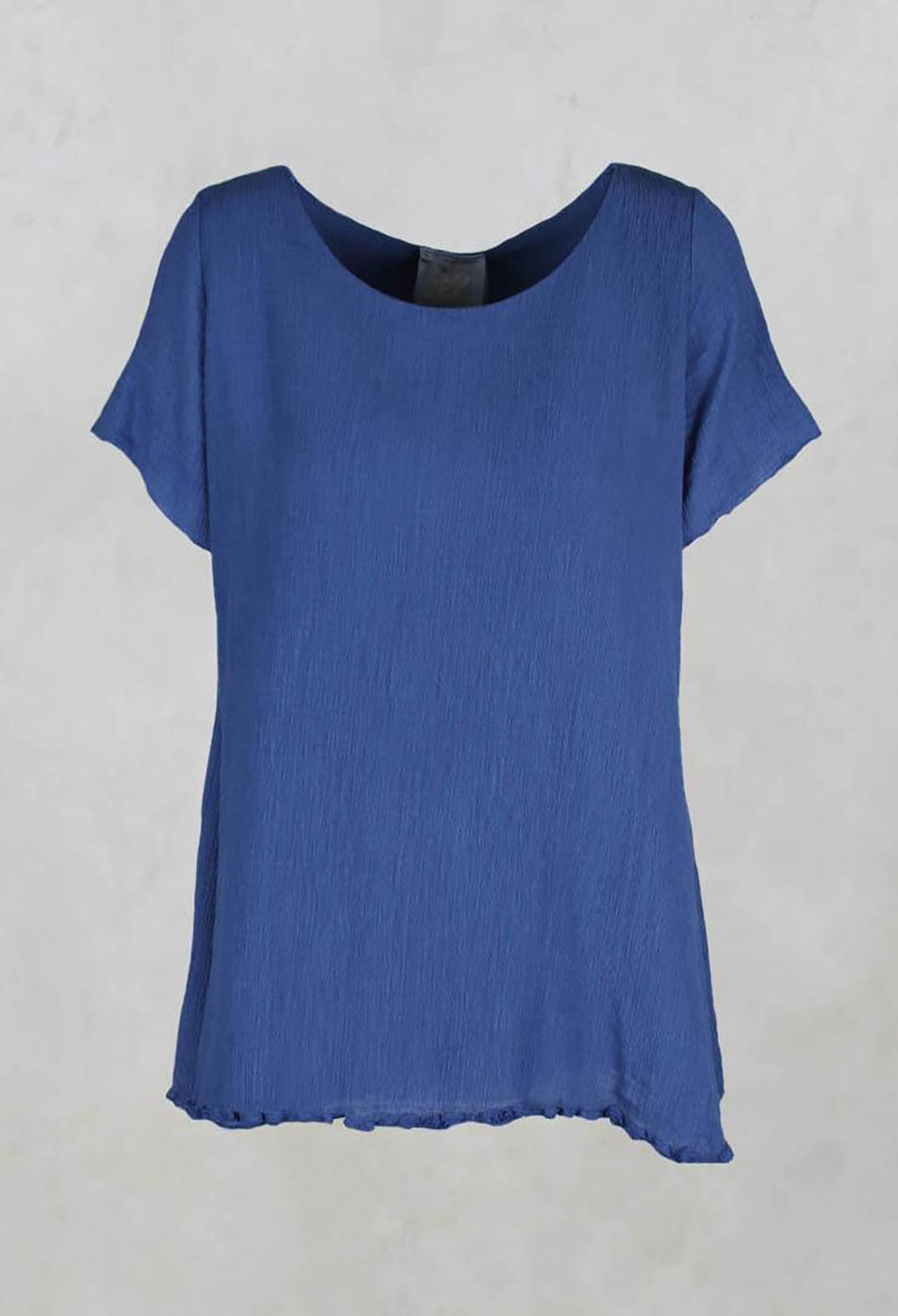 Double Layer Top in indigo