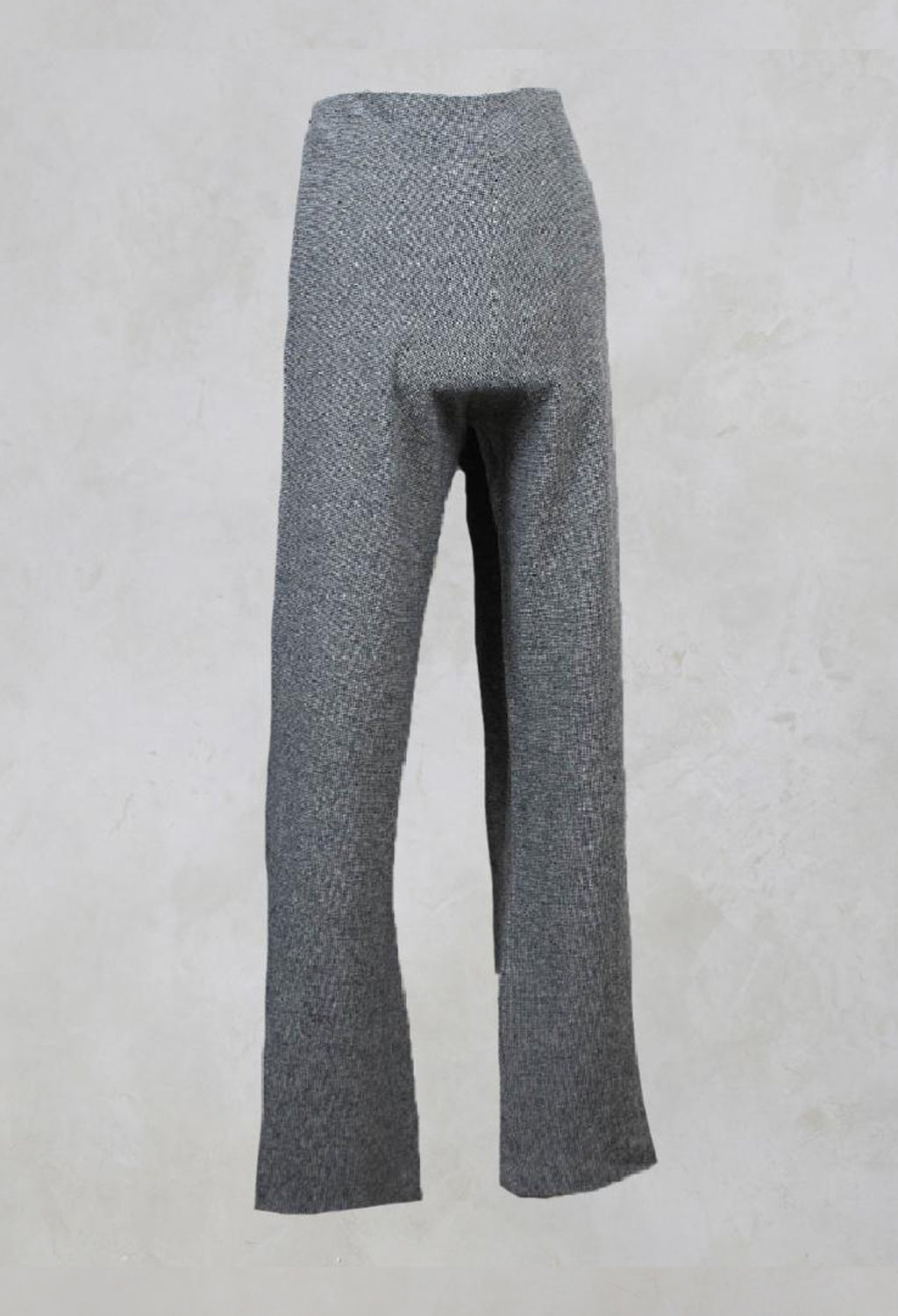 Houndstooth Trousers in Grey