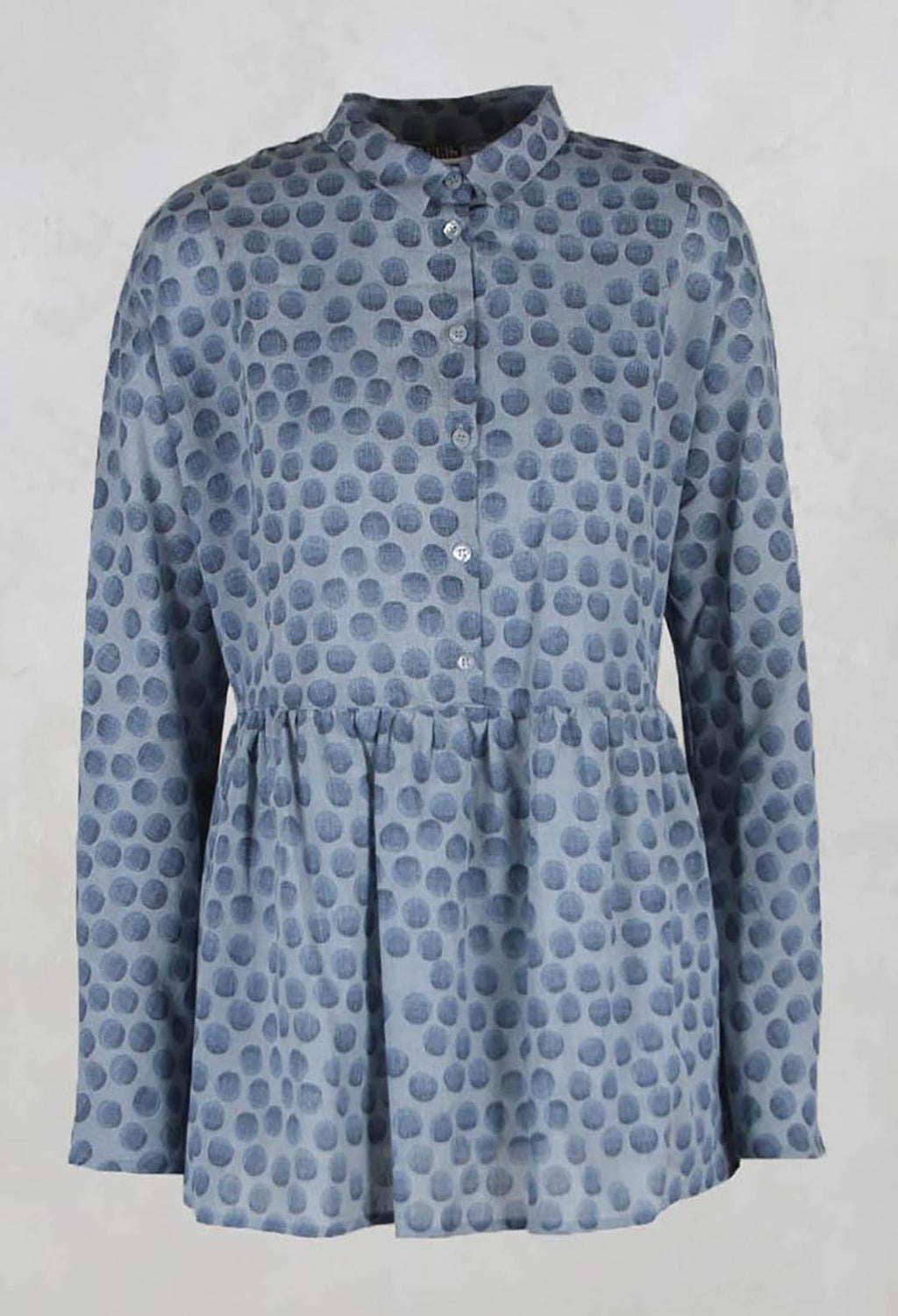 Baby Doll Style Blouse in Blue