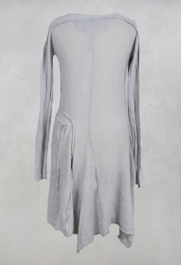 Cashmere Tunic in Light Grey