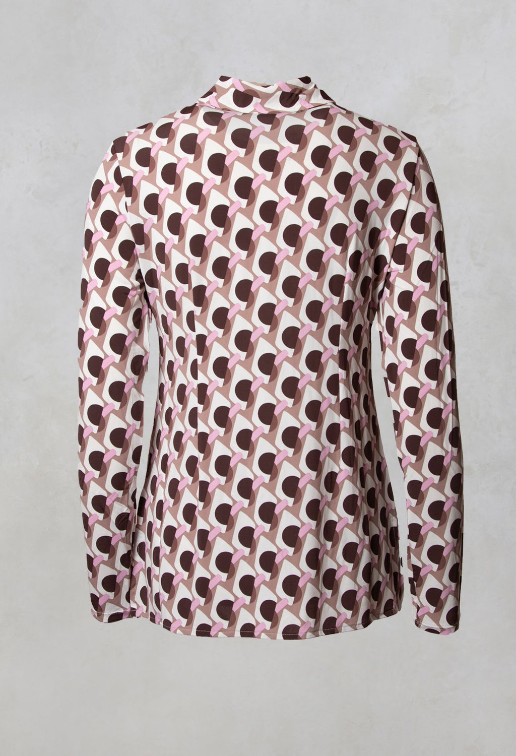 Ice Cream Shirt in Rosa / Moro / Brick