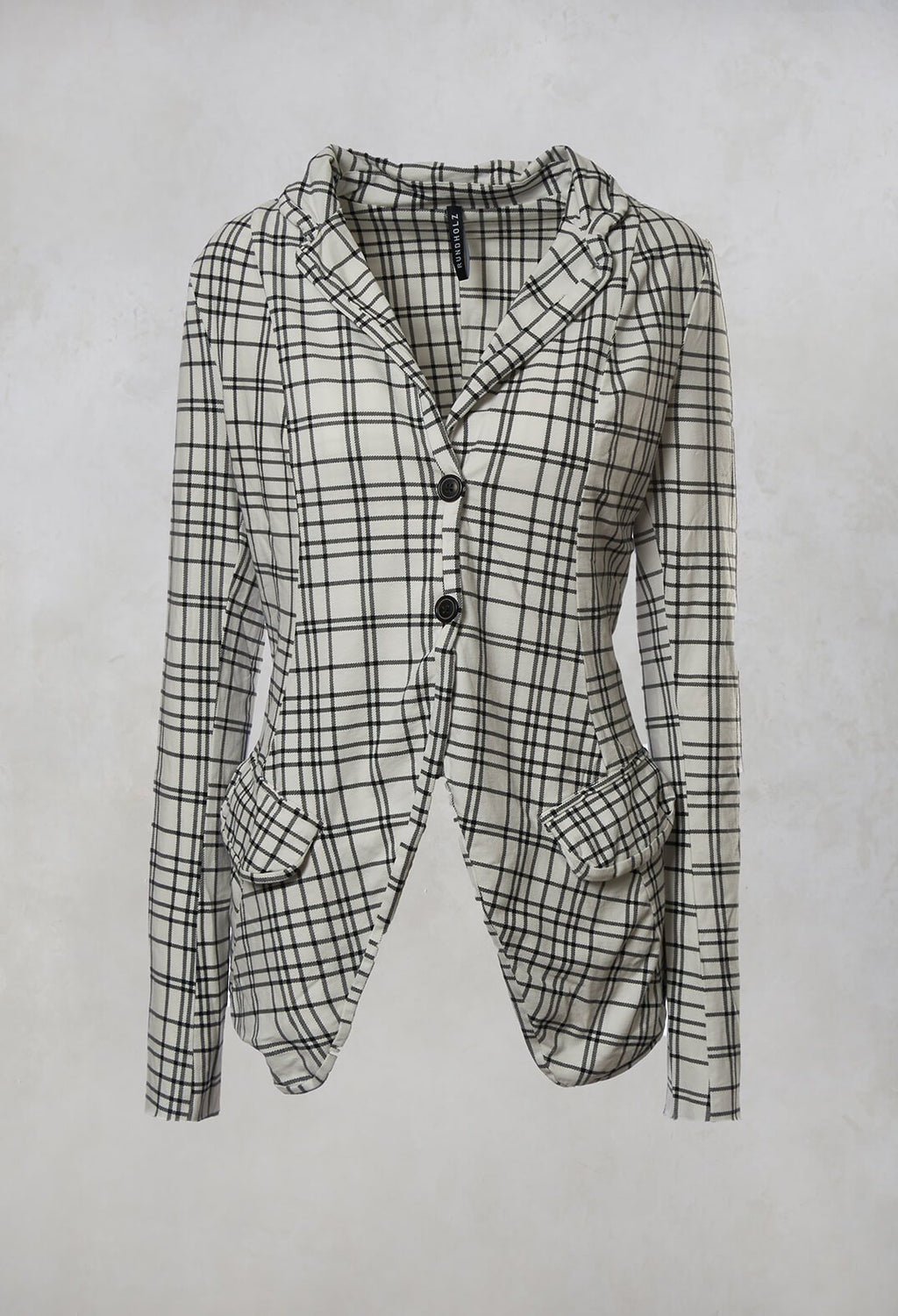 Jacket in Black Check