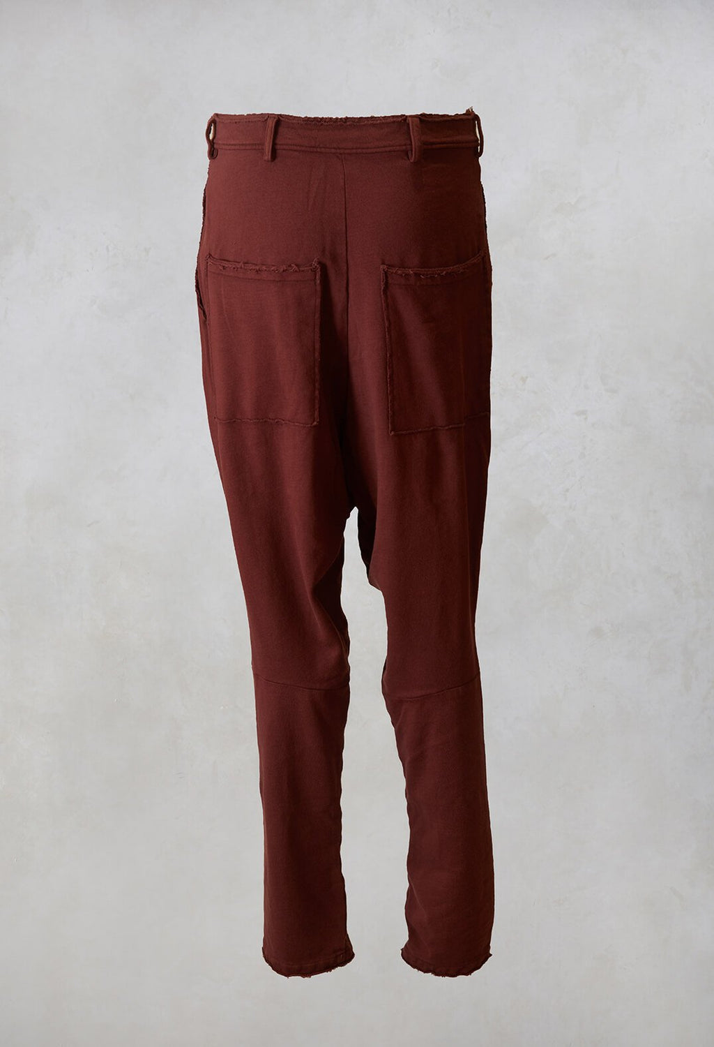 Jersey Trousers in Maple