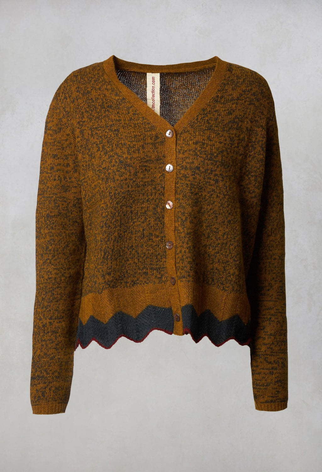 Knitted Cardigan in Maize