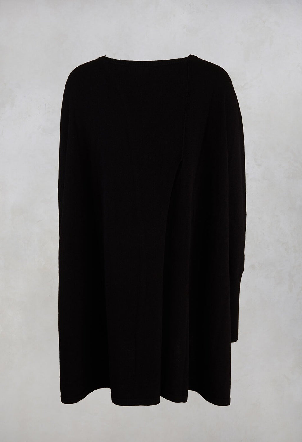 Knitted Tunic in Black