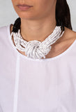 Knot Necklace in Black