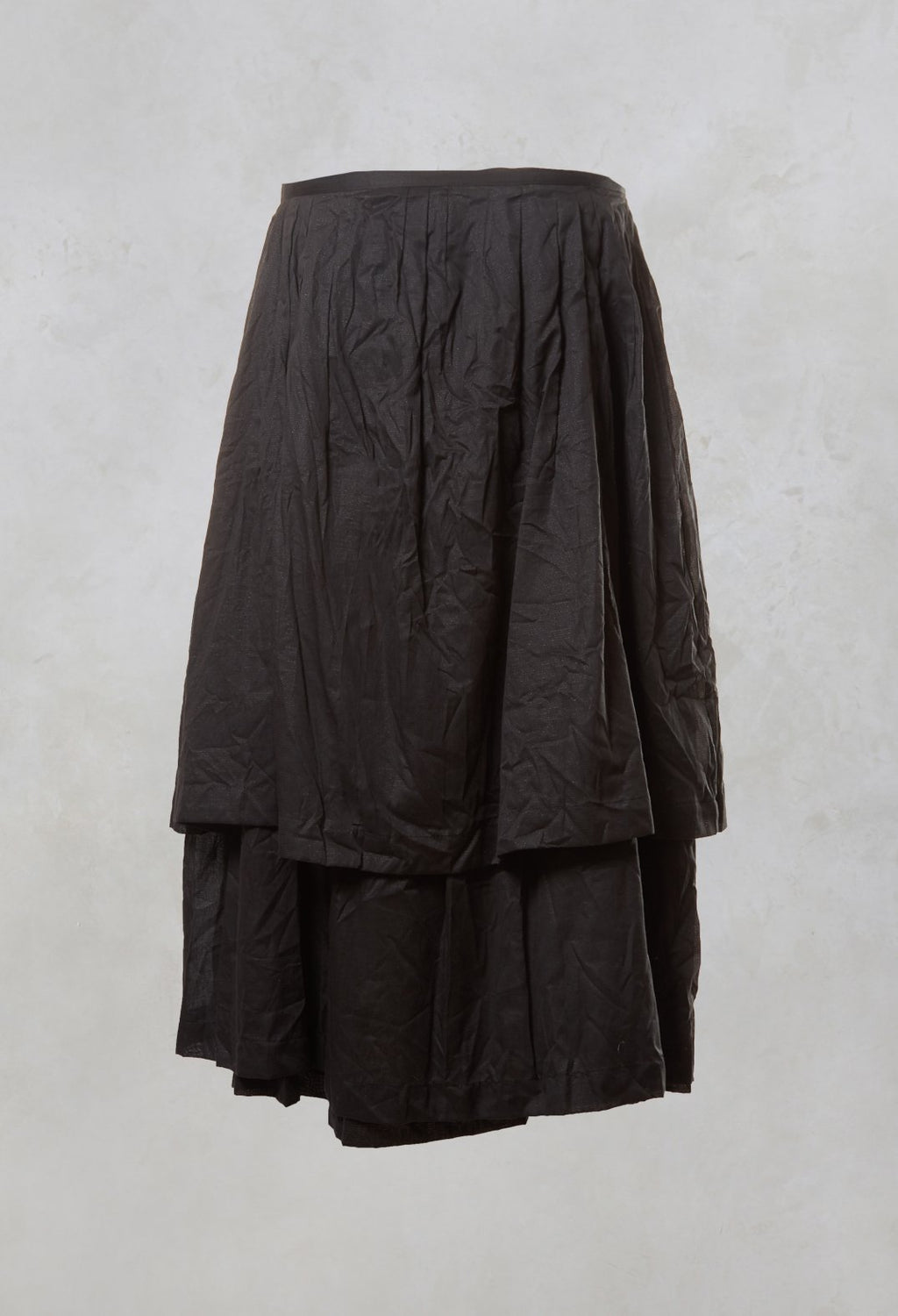 Layered Oxygene Skirt in Carbon