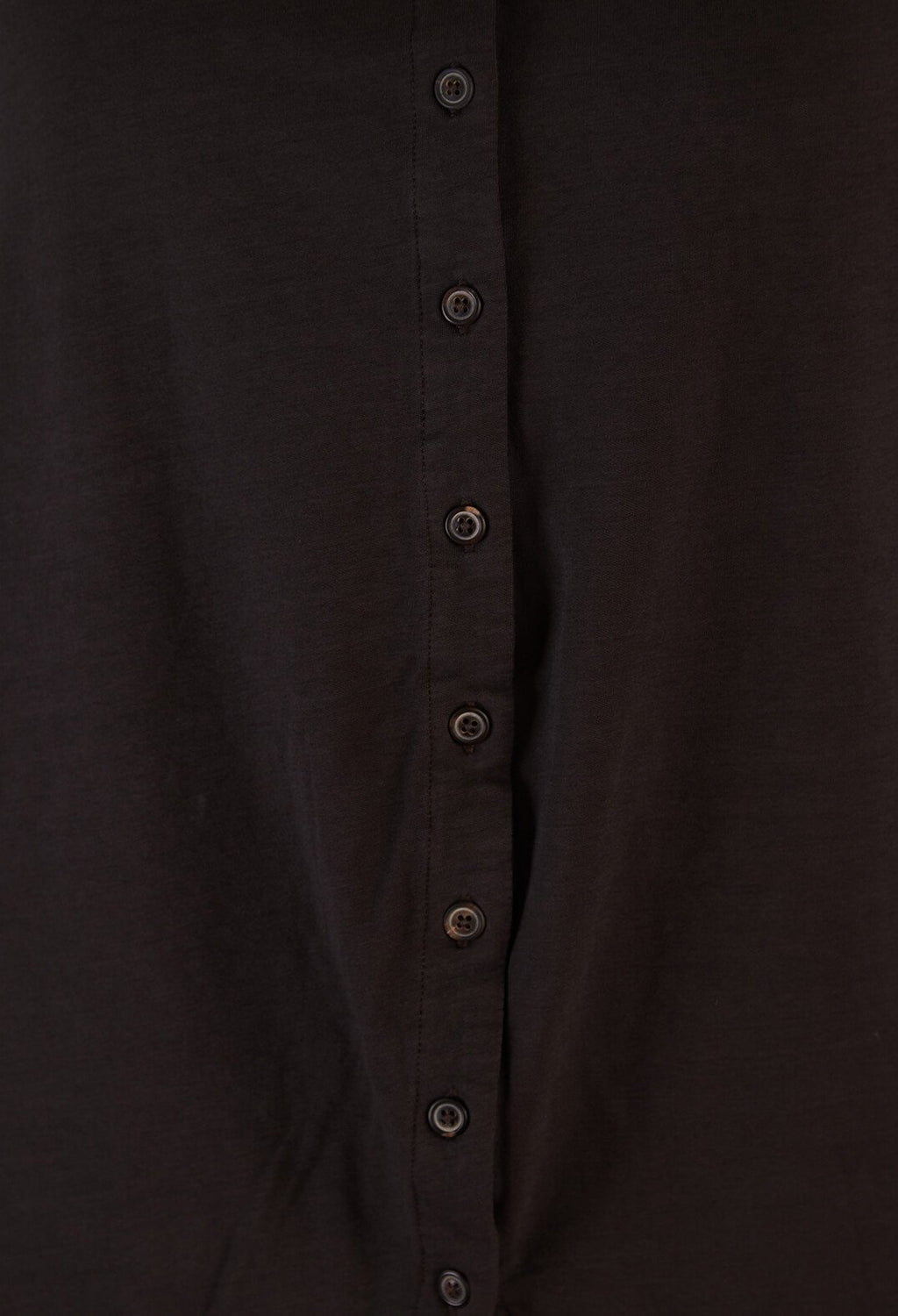 Longline Cardigan in Dark Brown