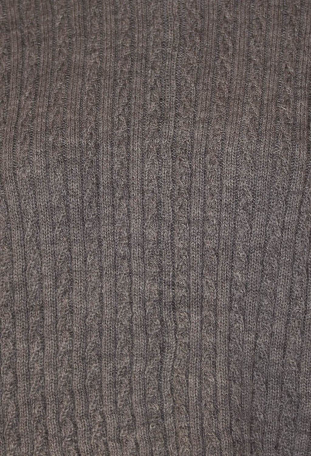 Merino Alpaca Blouse in Grey