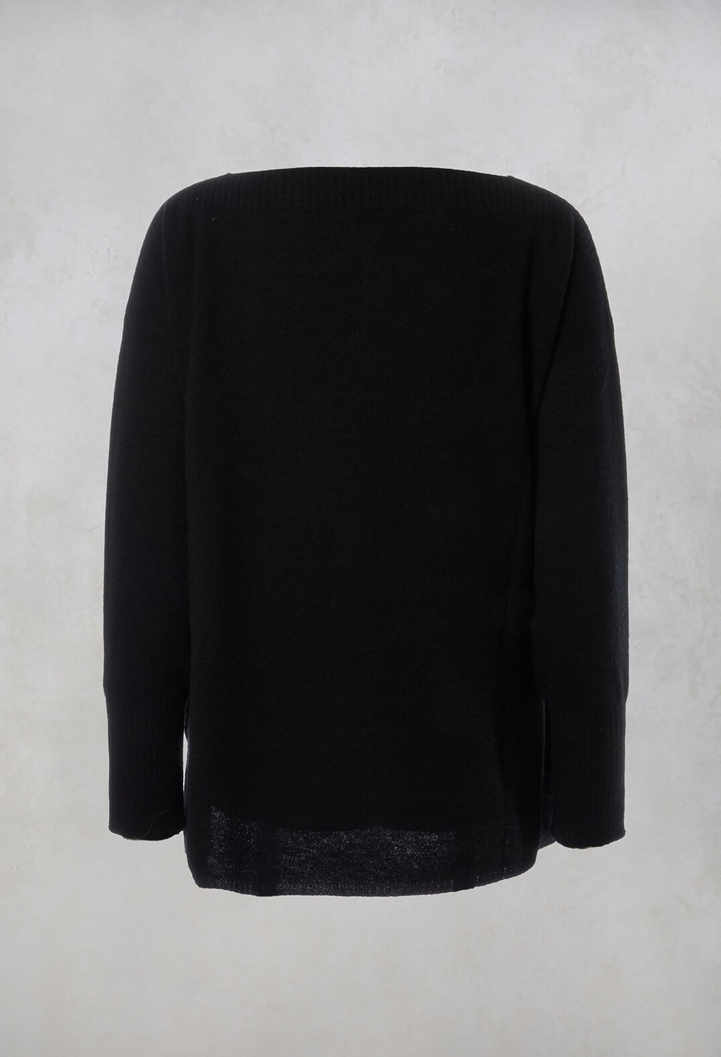 Merino Wool Jumper in Nero