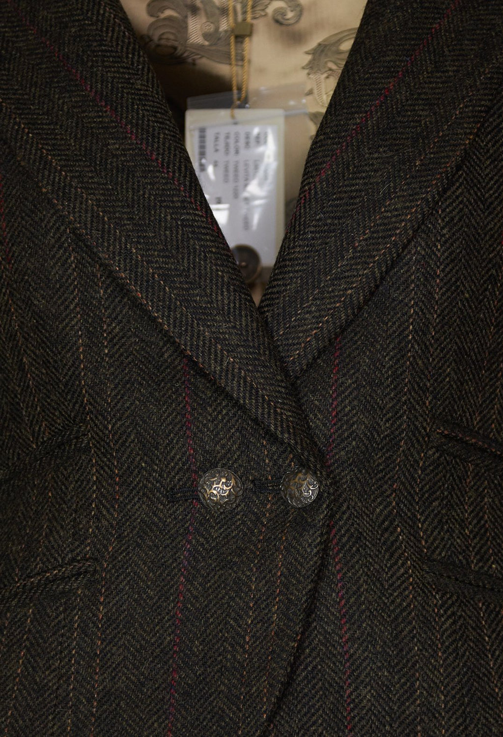 Mobet Short Coat in Tweed