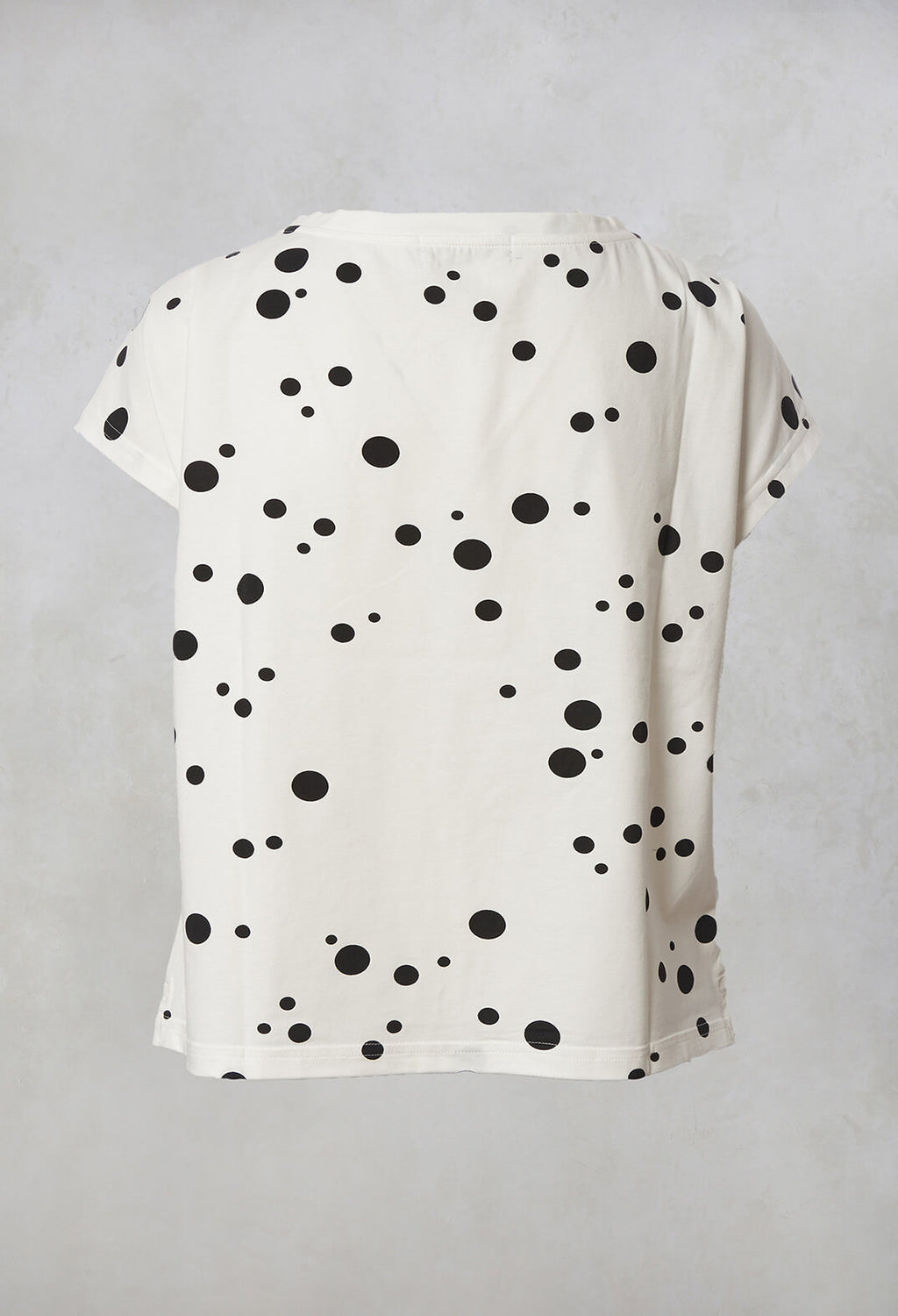 Nilo S Printed T-Shirt in Latte