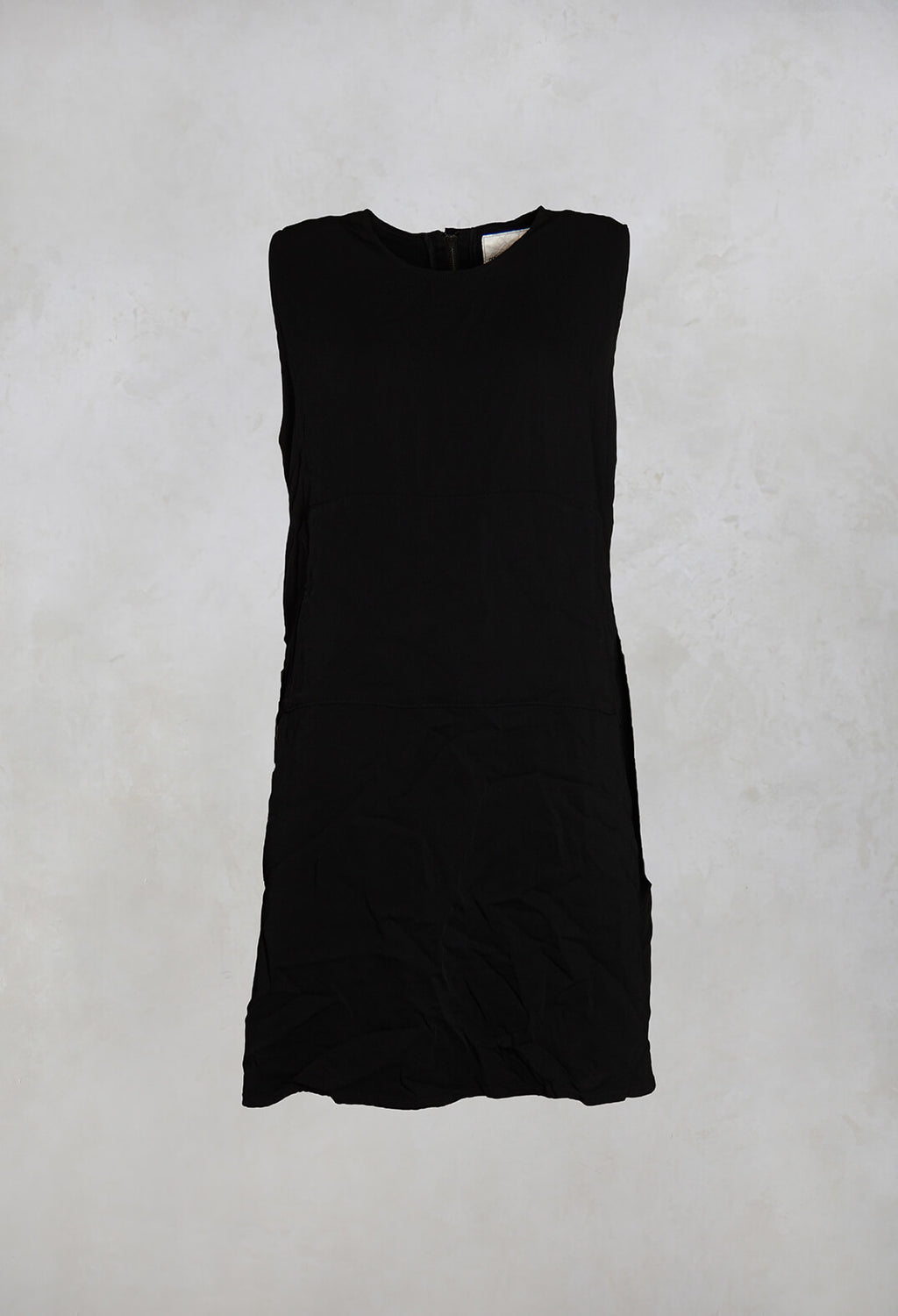Ockero Sleeveless Dress in Black