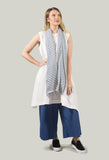 Wide Leg Trousers in indaco