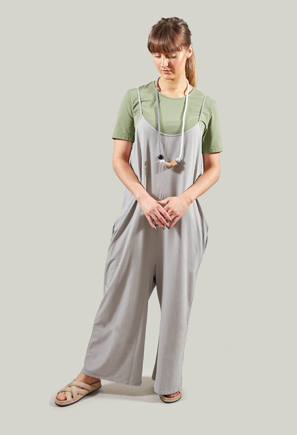Sole U Jumpsuit in Cloud