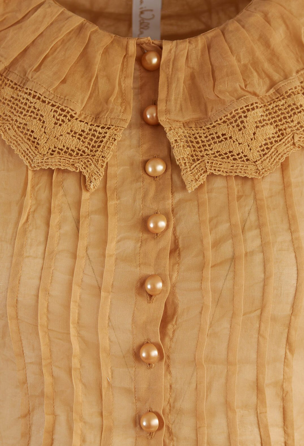 Organdie Collar in Amber