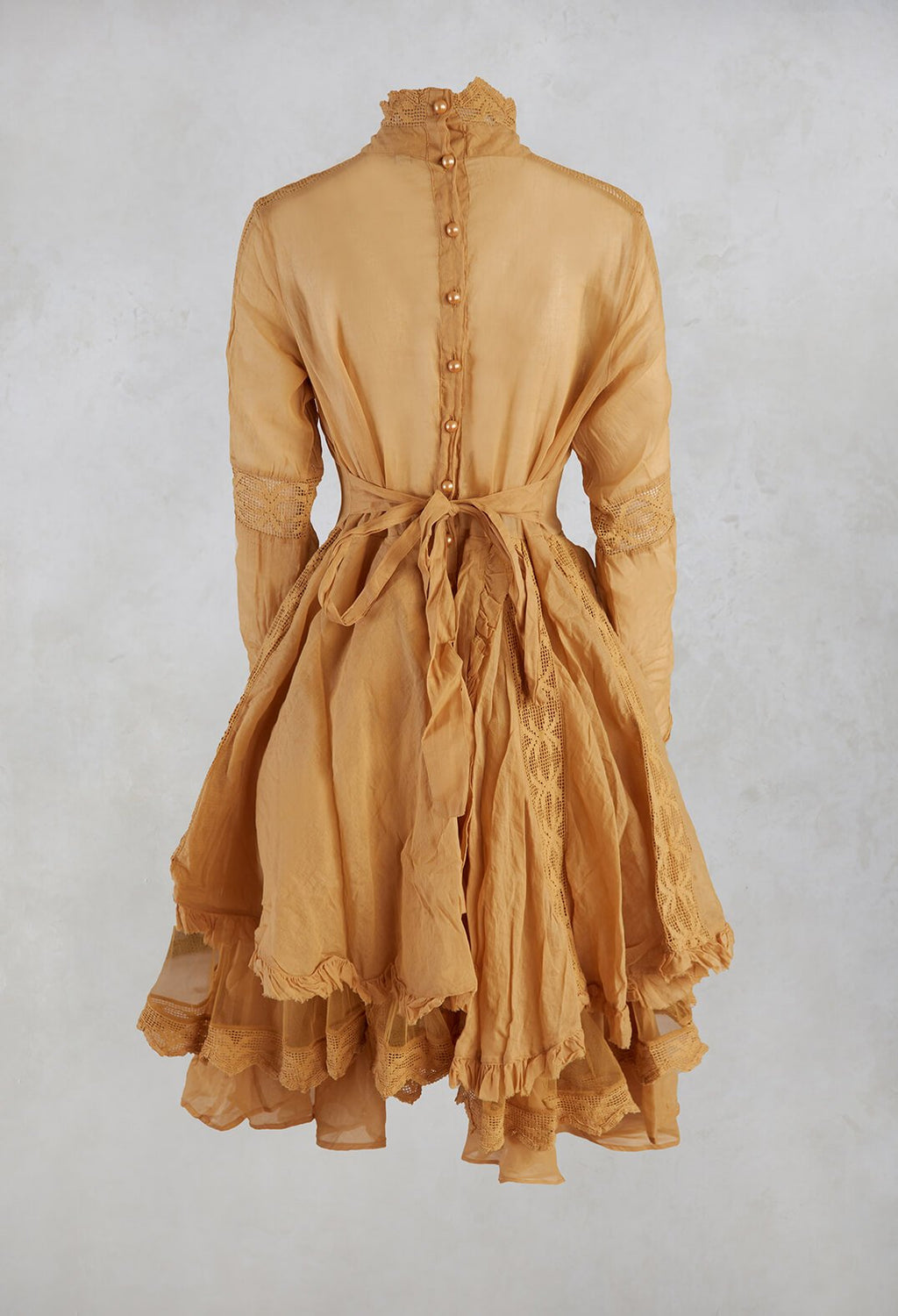 Organdie Dress in Amber