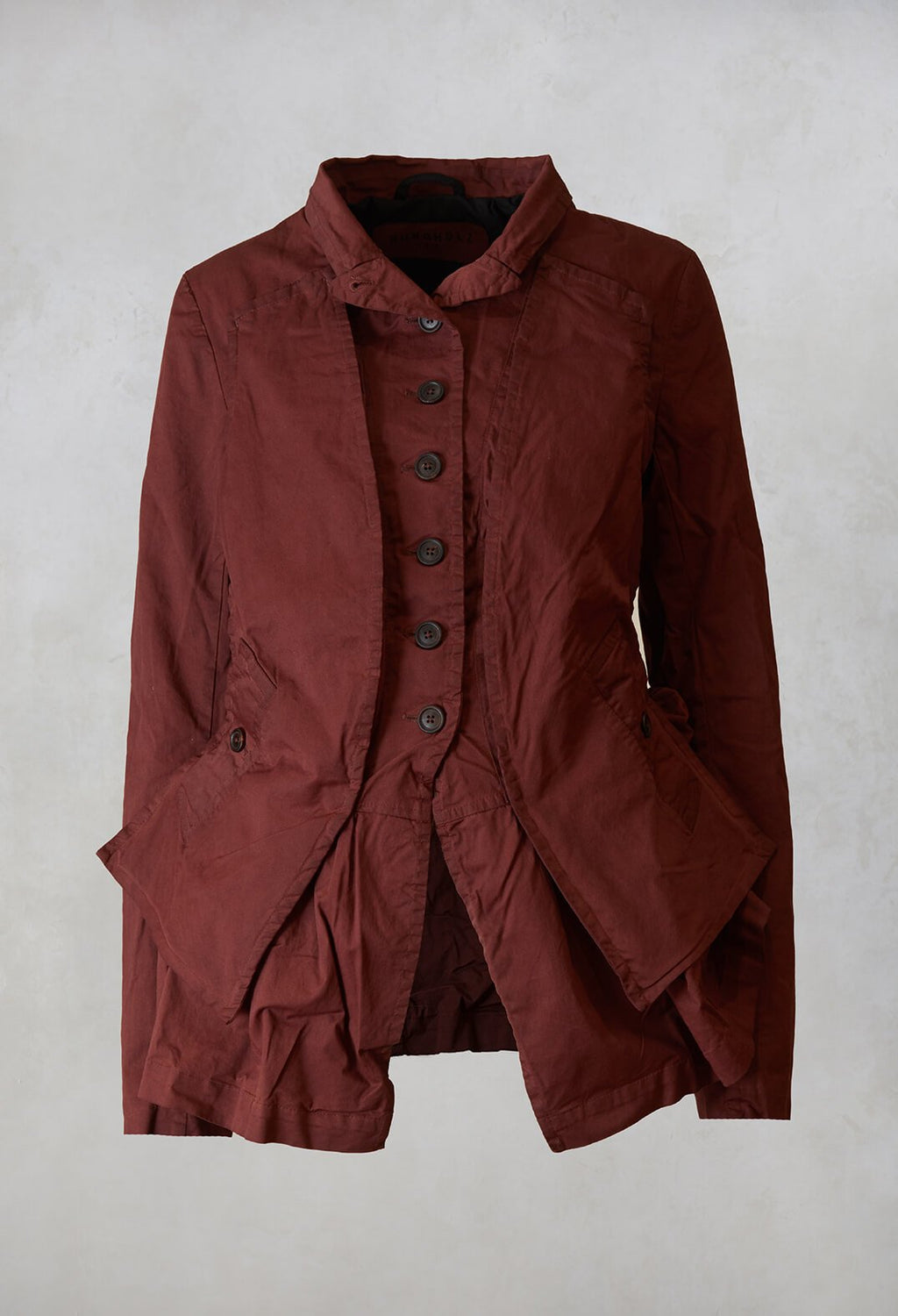 Panelled Jacket in Maple
