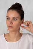 Part Eardrops in Blush