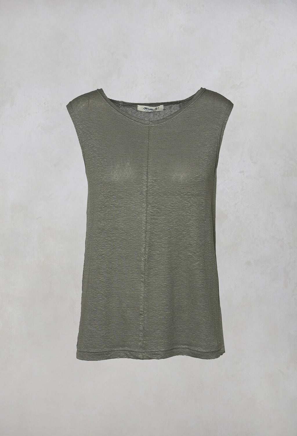 Passito L Knitted Vest Top in Timo